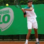 Tomás Barrios cayó en cuartos de final del Futuro 27 Italia