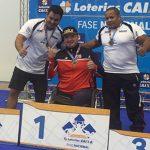 Cristián Aguirre y Macarena Quero ganan medallas de oro en Brasil