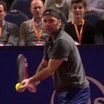 Fernando González debutó en la competencia de dobles senior de Wimbledon