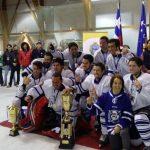Yetis ganó el IV Campeonato Internacional de hockey sobre hielo de Punta Arenas