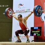 Julio Acosta será el representante masculino de las pesas chilenas en Río 2016