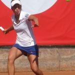 Ivania Martinich cayó en octavos de final del ITF de Arad