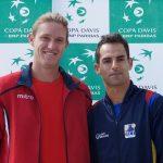 Nicolás Jarry y Santiago Giraldo abrirán la serie de Copa Davis entre Chile y Colombia