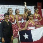 Chile obtuvo tres títulos en el Panamericano de Baile Deportivo 2016
