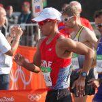 Edward Araya fue descalificado en los 50 kms de la marcha atlética en Río 2016
