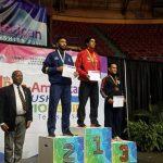 Ariel Mancilla gana medalla de oro en el Panamericano de Wushu