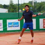 Bastián Malla gana en singles y dobles del Futuro 25 Italia