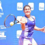 Fernanda Brito avanzó a cuartos de final de dobles del ITF de Hammamet