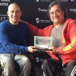 Pablo Araya logró el segundo lugar en el Futuro de Sao Paulo
