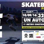 Los mejores skaters nacionales participarán en el torneo Kill to Kill Polemic