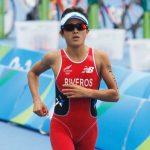 Bárbara Riveros realiza gran actuación en el triatlón femenino de Río 2016