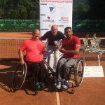 Robinson Méndez logra el vicecampeonato en singles y dobles del ITF Wheelchair de Brno