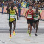 Víctor Aravena sorprende terminando en el lugar 42 del maratón masculino en Río 2016