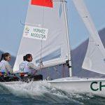 Nadja Horwitz y Sofia Middleton rozaron la clasificación a la Medal Race del velerismo en Río 2016