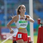 Isidora Jiménez terminó quinta en su serie clasificatoria de 200 metros planos en Río 2016