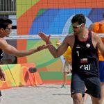 Los primos Grimalt cayeron en su debut por los Juegos Olímpicos