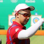 Ricardo Soto logró un nuevo récord chileno de tiro con arco