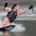 Valentina González igualó el récord nacional adulto de slalom