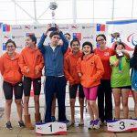 Academia Viña del Mar ganó el Nacional de Invierno de Natación Paralímpica