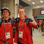 Equipo Grez llegó a Río de Janeiro