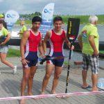 Víctor Vial y Nicolás Vergara fueron los mejores nacionales en el Mundial Junior y Sub 23 de Canotaje