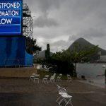 Lluvia y viento posponen la participación de binomios chilenos en el remo olímpico