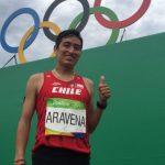 Víctor Aravena: Tuve que hacer un esfuerzo que lo pagué en los últimos kilómetros