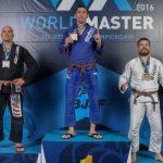 Francisco Maldonado logró medalla de bronce en el World Master de Jiu-jitsu