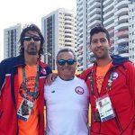 Hans Podlipnik y Julio Peralta cayeron en primera ronda del tenis olímpico