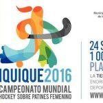 Se determinó el programa de la primera fase del Mundial de Hockey Patín Iquique 2016