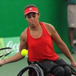 Macarena Cabrillana cayó en segunda ronda del tenis en los Juegos Paralímpicos