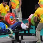 Jorge Carinao logró la sexta ubicación del levantamiento de pesas en Río 2016