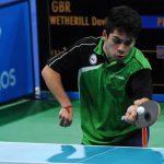 Finalizó la participación de Matías Pino en singles del tenis de mesa en Río 2016