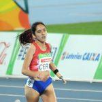 Amanda Cerna es la número uno del mundo en los 400 metros clase T47 de atletismo paralímpico