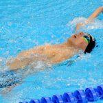 Alberto Abarza logró el octavo lugar en la final de los 50 metros espalda en Río 2016