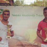 Cristóbal Saavedra y Ricardo Urzúa se titularon campeones de dobles en Serbia