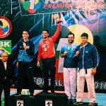 Rodrigo Rojas gana medalla de oro en fecha brasileña de la Premier League de Karate