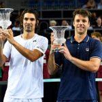 Julio Peralta y Horacio Zeballos se titularon campeones de dobles del ATP de Metz
