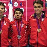 Chile sumó nuevas medallas en la segunda jornada del Sudamericano Menores de Esgrima