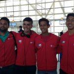 Selección Chilena viajó al Mundial Masculino de Tenis Sub 16