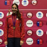 Esgrimista Katina Proestakis logró el séptimo lugar en la Copa de América del Norte