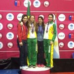 Florete juvenil entregó dos nuevas medallas a Chile en el Sudamericano Menores de Esgrima