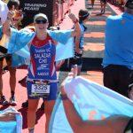 Macarena Salazar tuvo un destacado debut en el Mundial Ironman 70.3