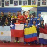 Chile se titula campeón sudamericano por equipos masculino de tenis de mesa