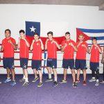 Team Chile de Boxeo viaja a Ecuador para disputar la Copa Pacífico