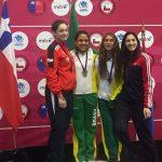 Chile sumó dos medallas en la espada juvenil del Sudamericano Menores de Esgrima