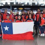 Delegación chilena viajó a Río para disputar los Juegos Paralímpicos
