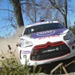 Jorge Martínez ganó la primera etapa del Gran Premio de Pucón del Rally Mobil