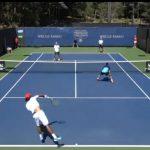 Julio Peralta avanzó a semifinales de dobles en el Challenger de Tiburón