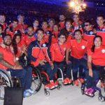 Team Chile participó en la clausura de los Juegos Paralímpicos Río 2016